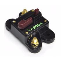 Disjuntor Automotivo 200 Amp Proteção Som Bateria