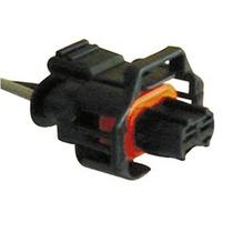 1 Tomada Chicote Soquete Conector Plug 2 Vias Universal