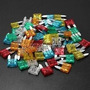 Fusível Kit Lamina De Mini Engate Diversas Amperagens 60 Pçs