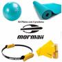 Kit Pilates Com 4 Produtos - Mormaii - Frete Grátis