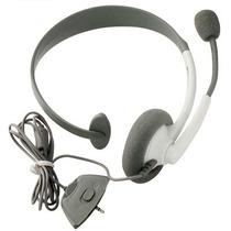 Fone Headset Headphone Para Xbox360 1 Lado