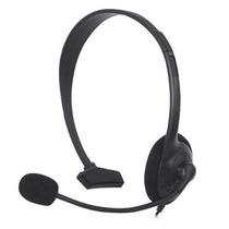 Fone De Ouvido Headset Com Microfone Para Xbox 360 Live Slim
