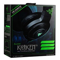 Headset Razer Kraken 7.1 Expert Som Surround Usb Pc Mac Ps4