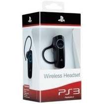 Fone Headset 2.0 Wireless Bluetooth Ps3 Sony Original Novo