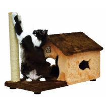 Arranhador Para Gatos Casa