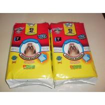 Tapete Higiênico Caninos Branco Para Cães E Gatos 7 Unidade