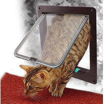 Porta Sistema 4 Em 1 Controla Fluxo Gato/cachorro Tamanho M