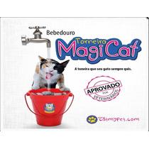 Bebedouro Torneira Magica Para Gatos - Vermelho 110 Volts