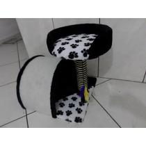 Casinha E Arranhador Para Gatos Toca Com Cama