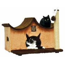 Arranhador Big Home Com Pezinho Para Gatos