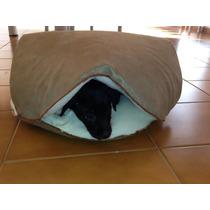 Cama Para Gatos E Cães Toca Em Suede E Solft T 52x48