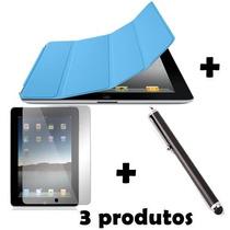 Capa Case Smart Cover Magnetica P/ Apple Ipad 2 3 4 E Retina