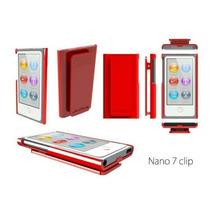 Capa Ipod Nano 7 Hard Candy Vermelha - Frete Grátis Brasil