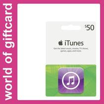 Cartão Apple Itunes $ 50 Estados Unidos Por Email
