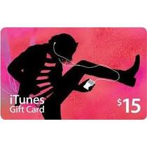 Itunes Gift Card $15 - Cartão Itunes Usa - Entregar Em 5 Min