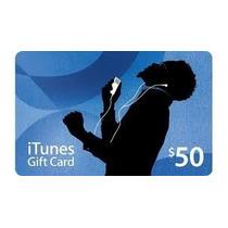 Itunes Gift Card De 50 Dólares Usa