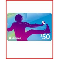 Cartão Itunes Gift Card 50$ Dolares - Melhor Preço Aproveite