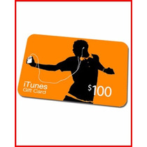 Itunes Gift Card 100$ Dolares - Apple Us - Melhor Preço!