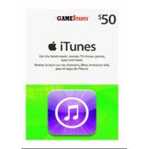 Itunes Gift Card De 50 Dólares Usa - Cartão Itunes U$50 Dola