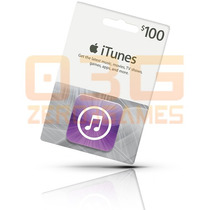 Itunes Gift Card 100 - Turbine Seu Ipod Iphone E Ipad! Usa