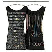10 Porta Joias Relogio Organizador Bijuteria Vestido Cabide