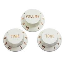 Knob Strinberg Tipo Strato ( Volume-tone-tone ) Branco