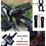 Kit Sinalizador Acessório Bicicleta Bike Suporte Smartphone