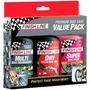 Kit Finish Line Premium Bike Care Value Pack 3-em-1
