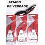 Kit De 3 Alicate De Cuticula Mundial 522 Afiado De Verdade.