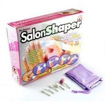 Kit Aparelho Manicure Salon Shaper Lixadeira Unha Manicure