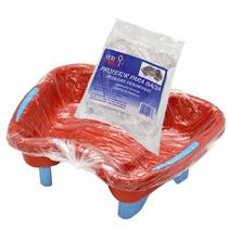 Protetor P/ Bacia Pedicure Descartável Santa Clara- Pct 50un