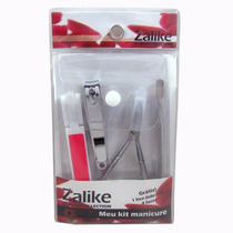 Kit Para Manicure Zalike Com 04 Produtos Ref: 810
