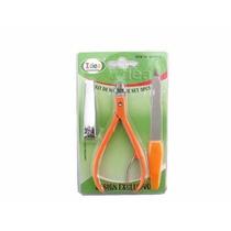 Promoção Kit 3 Peças Manicure Alicate Cortador Lixa