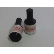 Kit Cola E Selante Para Nail Foil - 14ml Cada