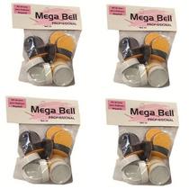 Refil De Lixas Para Pedicuro Mega Bell 4 Pacotes