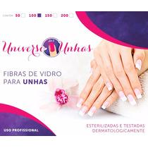 Fibras De Vidro P/ Unhas/ Frete Grátis / 50 Unidades