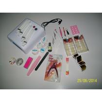 Acessorio P/manicure Fazer Unha Gel C/ Cabine 36 W Uv