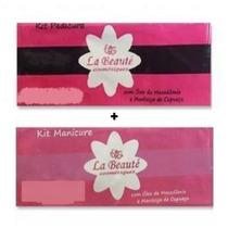 Descartáveis La Beuaté - Kit Manicure + Kit Pedicure 40pares