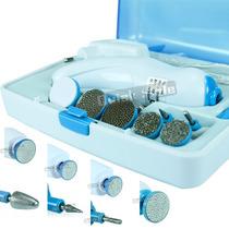 Kit Manicure Pedicure Elétrico Cone Lixas Polidores Cutícula
