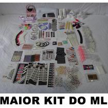 Kit Profissional Acrygel Uv Decoração De Unhas - +4000 Itens