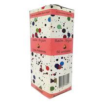 50 Lixas Rosa Adesivas Refil Para Pé Balm Argan Pedicuro