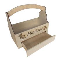 Caixa Para Manicures -caixa Em Mdf-porta Esmaltes - Manicure