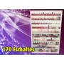 Organizador - Estante (170) Esmaltes (com Portas Acrilicos)