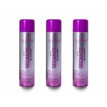 3 Spray Secante Para Esmalte La Beauté 400ml