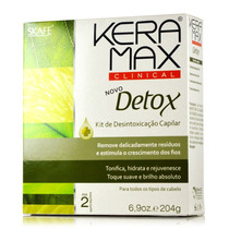 Kit Clinical Detox Kera Max 4 Produtos