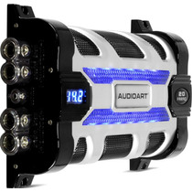 Mega Capacitor 20 Farad Digital Som Automotivo 20.000 W Rms