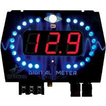 Voltimetro Digital Som Infratron Monitora Modulo Clip Remote