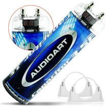 Mega Capacitor 3.5 Farad Digital Som Automotivo 3.500 W Rms