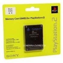 Memory Card Sony 8mb Playstation 2 Ps2 Cartão Memória