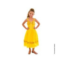 Fantasia Princesa Bela Basic Disney Sula M(6 Anos)